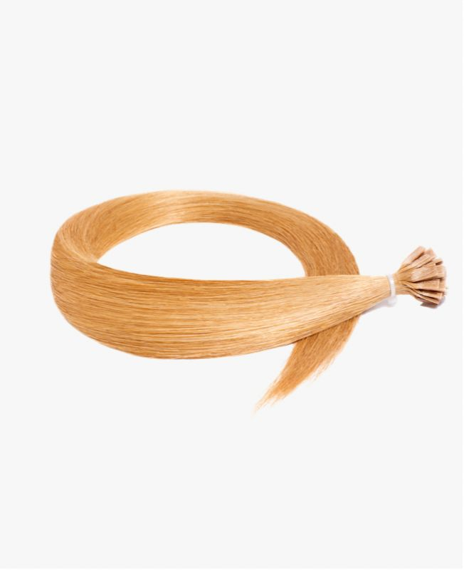 Pre-bonded Remy Human Hair Extensions - Straight - Excellence -  Color 27