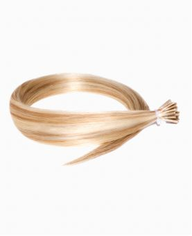 Micro Ring Remy Human Hair Extension - Straight - Excellence - Color Highlights 613-14