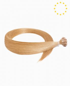 """Pre-bonded Remy Human Hair Extensions 22"""" - Straight - European - Color 14"""