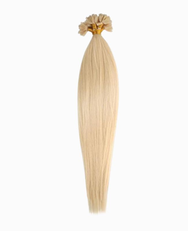 """Pre-bonded Remy Human Hair Extensions 18"""" - Straight - Premium - Color 22"""