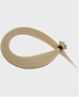 Pre-bonded Remy Human Hair Extensions - Straight - Excellence - Color 60