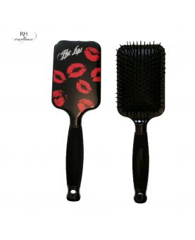 Brosse pneumatique rectangulaire - design lips