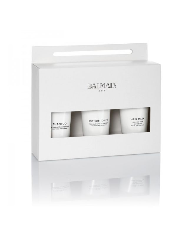 Travel set Balmain spécial extension cheveux