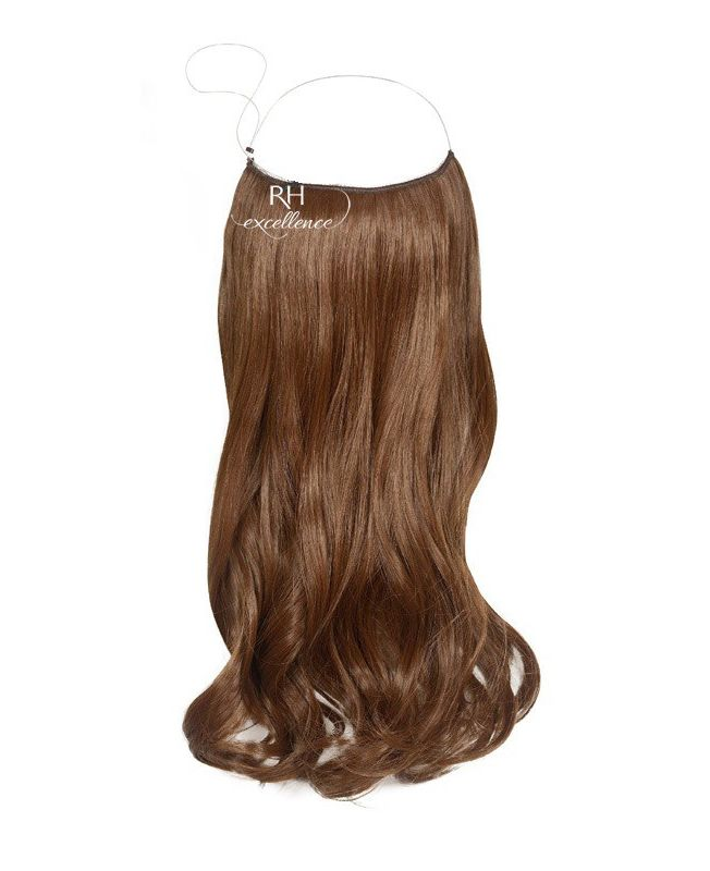 """Flip in Hair Extensions 18"""" (Set of 120 gr) Straight - Synthetic Fiber - Color 6"""