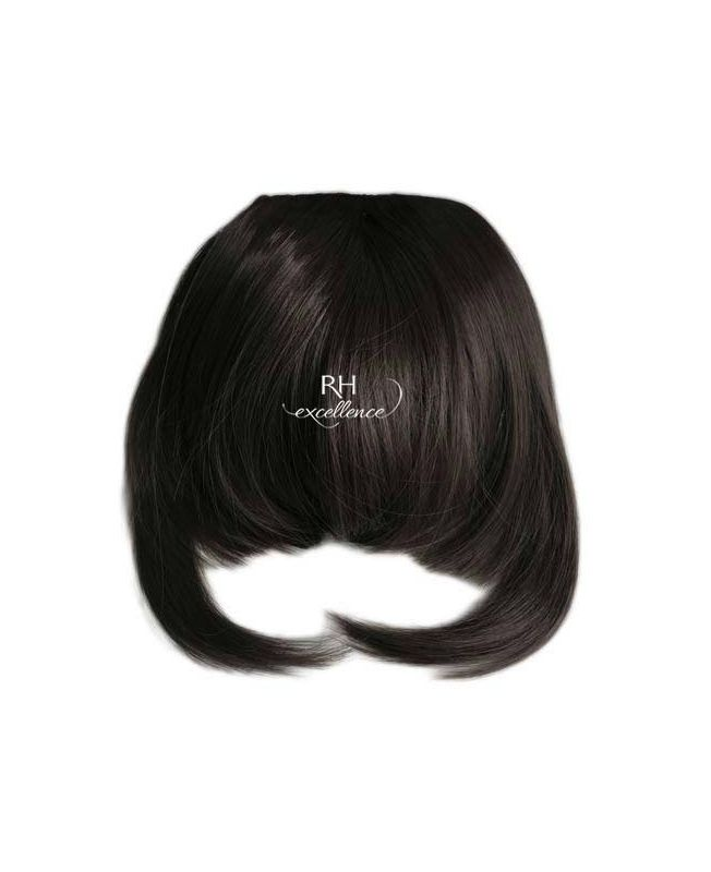 Clip In Fringe - Hair Piece Synthetic Fiber - Color 1B