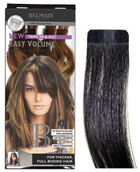Extension adhésive Easy volume Balmain 40 cm - Extension Bande - Dark expresso