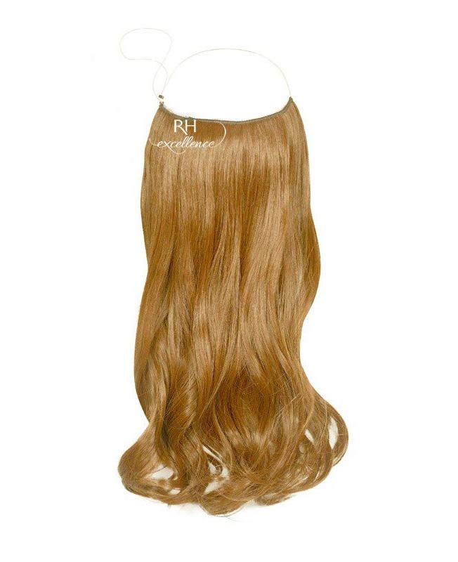 """Flip in Hair Extensions 18"""" (Set of 120 gr) Straight - Synthetic Fiber - Color 27"""