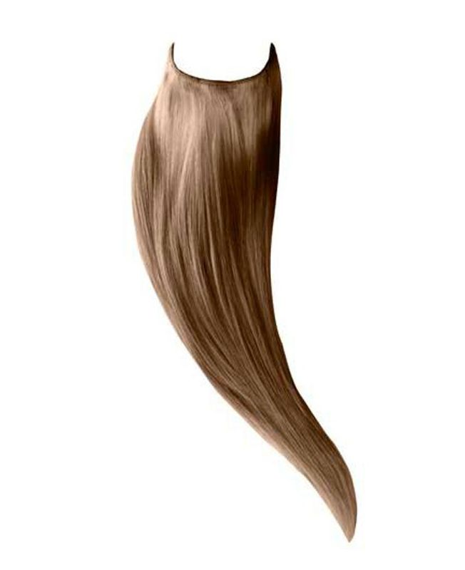 """Flip in Human Hair Extensions 18"""" (Set of 105 gr) Straight - Excellence - Color 14"""
