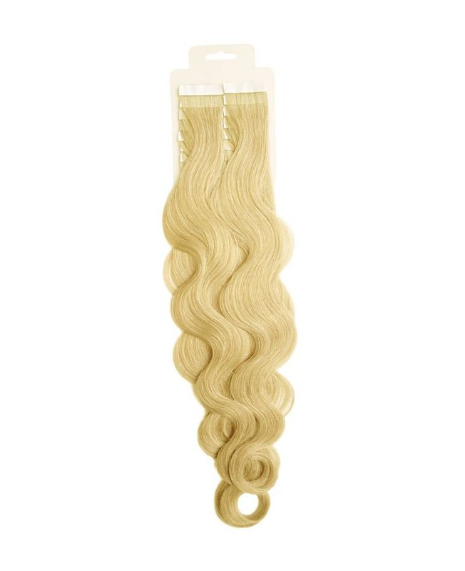 Tape in Remy human Hair Extensions - Nature Wave - Excellence - Color 22