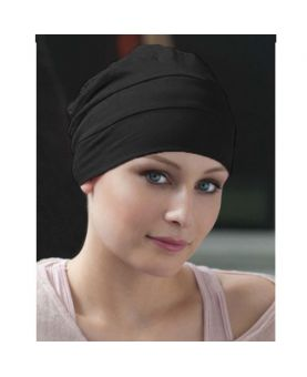 Turban / Foulard pour Chimiothérapie - Tala Black - Collection Latifa by Ellen Wille