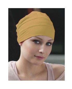 Turban / Foulard pour Chimiothérapie - Tala Sand - Collection Latifa by Ellen Wille