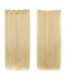 Extension a Clip Mono-Bande - Blond Platine N°613 - Extension cheveux