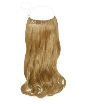 Extension cheveux à Enfiler Easy Fit - Blond clair doré cendré N°14 - Fibre professionnelle