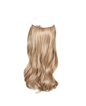 Extension cheveux à enfiler Easy Fit - Blond méché cendré N°613/14 - Fibre professionnelle