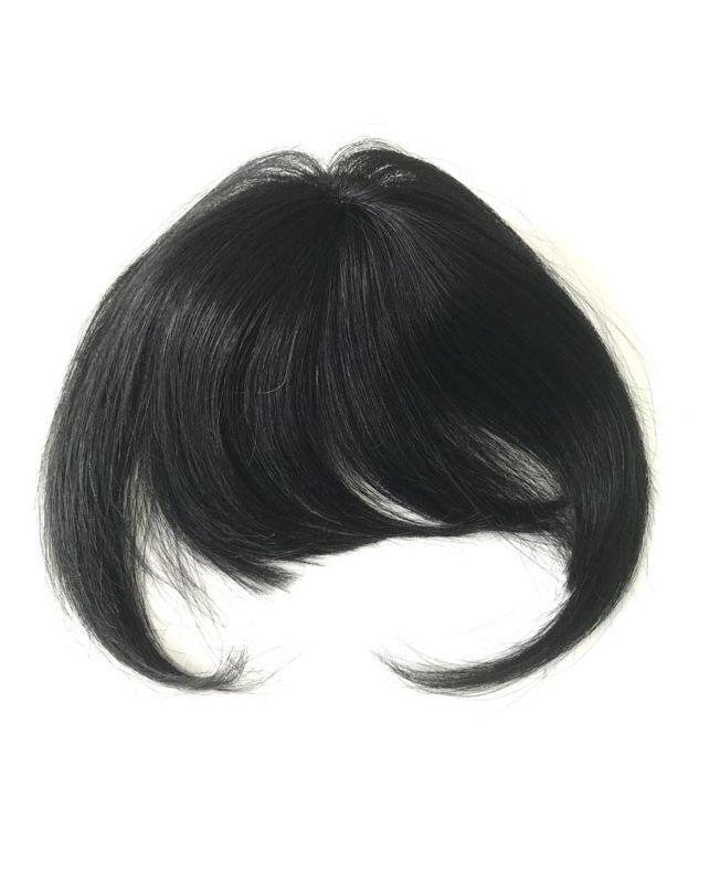 Clip In Fringe - Hair Piece Human hair - Color 1