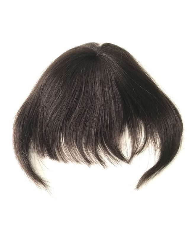 Clip In Fringe - Hair Piece Human hair - Color 2
