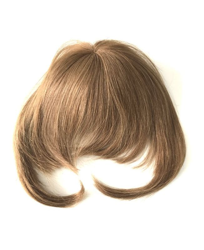 Clip In Fringe - Hair Piece Human hair - Color 10