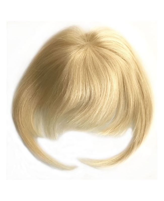 Clip In Fringe - Hair Piece Human hair - Color 613