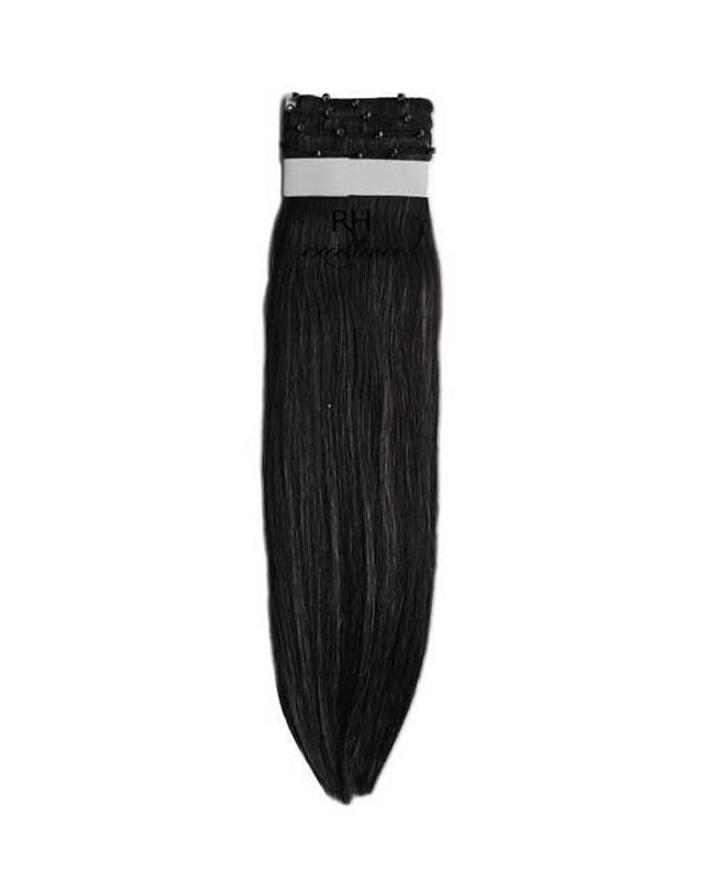 Easy Weft Hair Extension - N°1 - Straight - Excellence